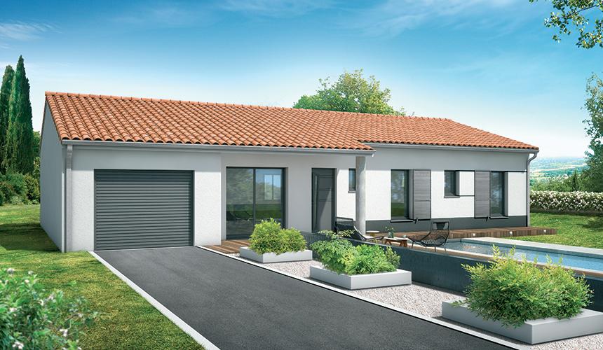 Projet de construction de maison modele de maison for Projet de construction terrain maison